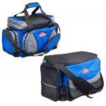 System Bag Blauwzwart